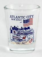 ATLANTIC CITY NEW JERSEY GREAT AMERICAN CITIES COLLECTION SHOT GLASS SHOTGLASS