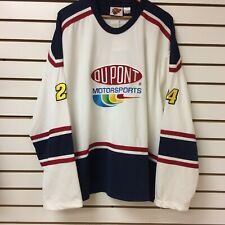 Vintage Jeff Gordon Hockey Jersey Size 2xl Nascar With Tags
