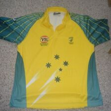 Australia National Cricket Team Shirt Fila Men's Extra Large Used Short Sleeve