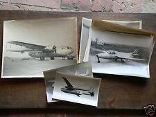 lot photos tirage originaux d'époque avions militaire helico Bréguet/magister