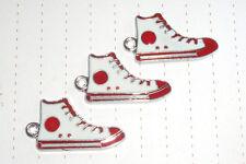 80s Retro All Star Converse Zapatillas Sneekers encantos X 3 Lindo Kitsch Kawaii