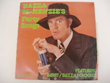 BAZZA McKENZIE'S - PARTY SONGS - 1972 FESTIVAL LP