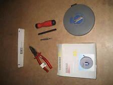 Profi Werkzeug Set Werkstatt Heimwerker 5 teilig mit Kombizange und Bandmaß 120