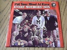 """EVERY MOTHER'S SON - PUT YOUR MIND AT EASE    7"""" VINYL PS"""
