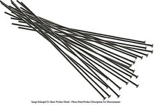 20 Piece Gunmetal Plated Head Pins 3 Inches Long 22 Gauge Wire Jewelry Findings