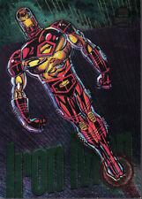 MARVEL UNIVERSE SERIES 5 1994 Farbe Powerblast Karte 7