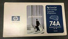 Hewlett-Packard HP 92274A (HP 74A) Black Toner Cartridge for Laser Jet 4L