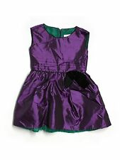 American Girl Purple Party Special Occasion Portrait Dress Size 6