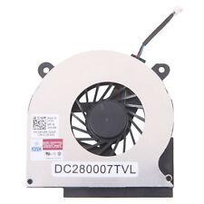 2pcs Laptop Plastic & Metal CPU Air Cooling Fan for DELL Latitude E6400 Black