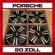 "Porsche Panamera 970 20"" Turbo II Felgensatz schwarz Hochglanz 20 Zoll 9,5 & 11"