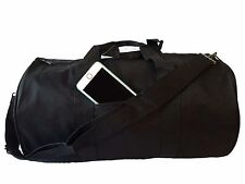 "Polyester ROLL Duffle Duffel Bag Travel Gym Carry-On Sport Gym Bag 18"" ALL COLOR"