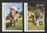 Norfolk Island 2020 : Norfolk Blue - Design Set x 2 Stamps. Mint Never Hinged