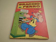 BRACCIO DI FERRO NUMERO 10 DELL'OTTOBRE 1967 DA EDICOLA, PERFETTO