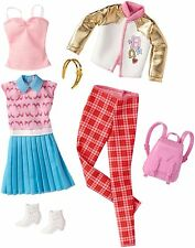 Clothes for Barbie Doll, Fashions 2-Pack - School Pack, Original Doll Size