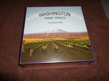 Washington Wine Trails Board Game New in Package