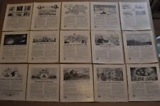 1917-19 BELL TELEPHONE advertisements x15, AT&T, early telephone ads qty 15