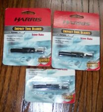 Harris Impact Tool Blades Krone Blades 10565-000 New Lot Of 3