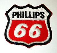 Vintage Phillips 66 Oil & Gas Station Co. Cloth Jacket Hat Patch New NOS 1960s