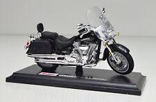 Yamaha Road Star Silverado schwarz Maßstab 1:18  Motorrad Modell von maisto