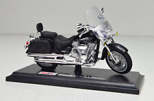 Yamaha Road Star Silverado noir échelle 1:18 Moto Modèle de maisto