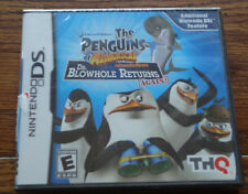 Nintendo DS Penguins of Madagascar Dr. Blowhole Returns Again – Brand New