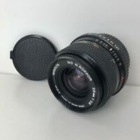 Minolta MD w.rokkor 1:2.8 f=28mm Camera Lens with both caps