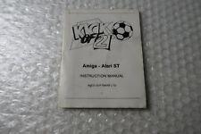 Amiga Game / Software Manual / Paperwork ~ Kick Off 2 Anco