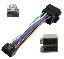 Adaptador con ISO cables enchufes para autoradio KENWOOD