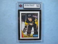 1987/88 O-PEE-CHEE NHL HOCKEY CARD #15 MARIO LEMIEUX KSA 8.5 NM/MINT+ 87/88 OPC