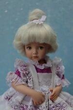 "Portrait #10 - OOAK - 11"" Porcelain Doll - from mold Dianna Effner - MAFD"