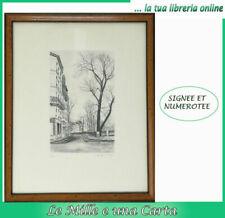 Estampes et gravures du XXe siècle et contemporaines lithographies en paysage