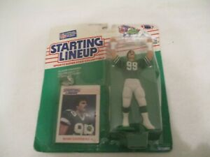 Starting Lineup football action figure Mark Gastineau - 1988 poor card