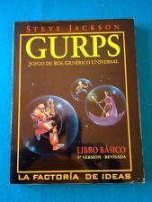 Rol - GURPS, juego de rol genérico universal - La Factoria RL627