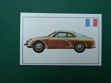 """N°150 ALPINE TYPE """"G"""" TOUR DE FRANCE PANINI 1972 HISTOIRE DE L'AUTOMOBILE"""
