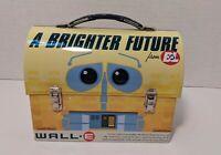 "Disney Pixar Wall-E & Eve Lunch Box 7"" A Brighter Future Tin Box Company BnL"