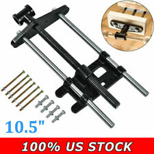 """10.5"""" Heavy Duty Woodworking Cabinet Maker's Vise Table Top Clamp Press Locking"""