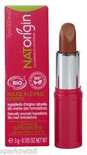 NATOrigin Organic 100% Natural LIPSTICK 3g GOLD Deep Golden Shimmer