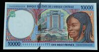 Banknote. Cameroun 10000 Francs 1994 Pick 205Ea UNC/NEUF