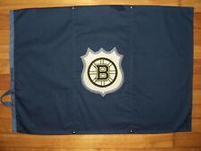 POTTERY BARN PB TEEN Navy Boston Bruins Patch Logo NHL Standard Sham Case Cotton