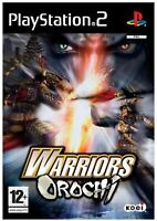 Warriors Orochi PS2 PlayStation 2 Video Game Original UK Release