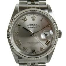 ROLEX Datejust wrist watch 16234 P Automatic gray Stainless steel  Used