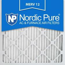 Nordic Pure 12x12x1M12-6, MERV 12 Pleated Air Condition Furnace Filter, Box of 6