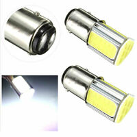 4PCS 1157 BAY15D 4COB 42 SMD LED 6000K Car Parking Backup Tail Light White