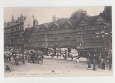 Holborn,London,U.K.Staple Inn,Old Houses,Horse Drawn Coaches,Publ.by L.L.,c.1909