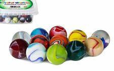 My Toy House Shooter Marbles 12 Set 1 inch Assorted Colors Outdoor Play Game Kid