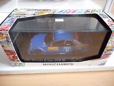 Minichamps Mercedes C-Klasse DTM '95 Ruch in Blue on 1:43 in Box