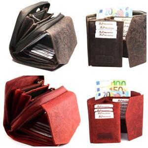 Echt Leder schöne Damen Portemonnaie,Brieftasche,Geldbörse Italien Lozano SJ-V14