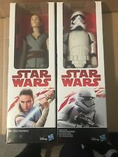 Star Wars Figures, Rey & First Order Stormtrooper 12 Inches