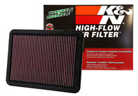 K&N AIR FILTER FOR TOYOTA PRADO LANDCRUISER KDJ120R 06-09 1KD-FTV 3.0L TURBO 4X4