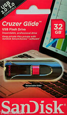 Sandisk Cruzer Glide 32GB USB Flash Drive 32GB USB Stick SDCZ60-032G-B35 OVP